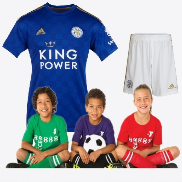 kid's Leicester City Home Jersey 19/20 (Customizable)