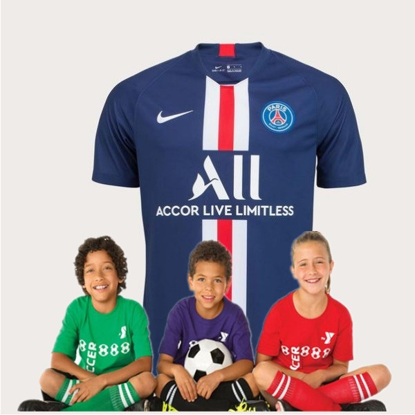 Kid's Paris Saint-Germain Home Suit 19/20 (Customizable)