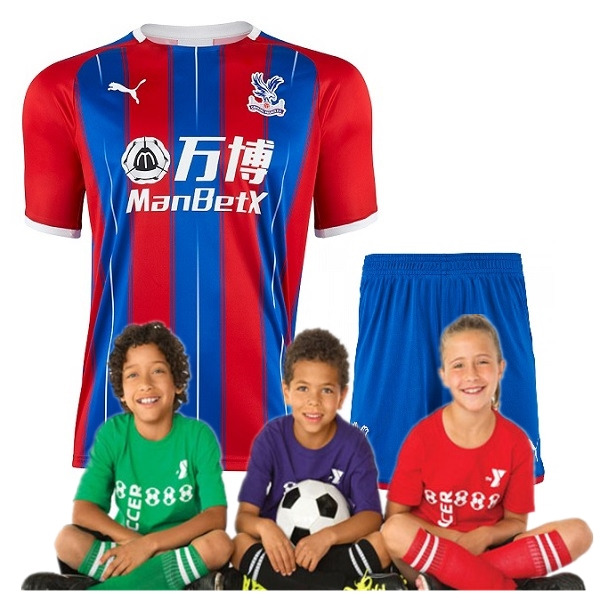 kid's Crystal Palace Home Jersey 19/20 (Customizable)