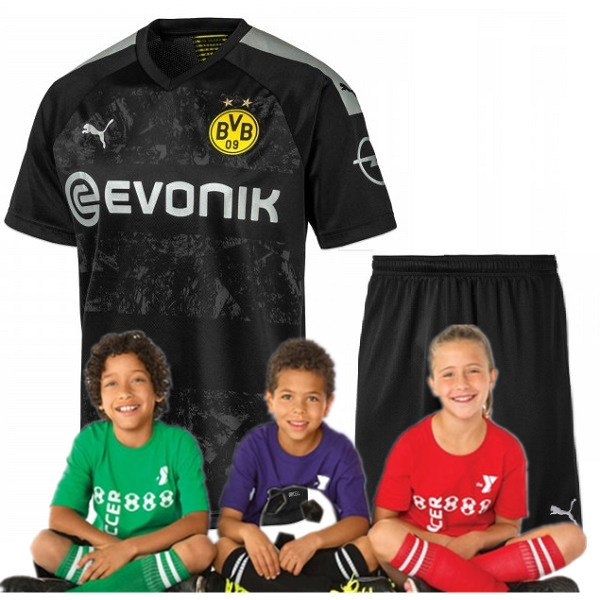Kid's Borussia Dortmund Away Jersey 19/20 (Customizable)
