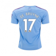 Manchester City Home Jersey 19/20 #17 Kevin De Bruyne
