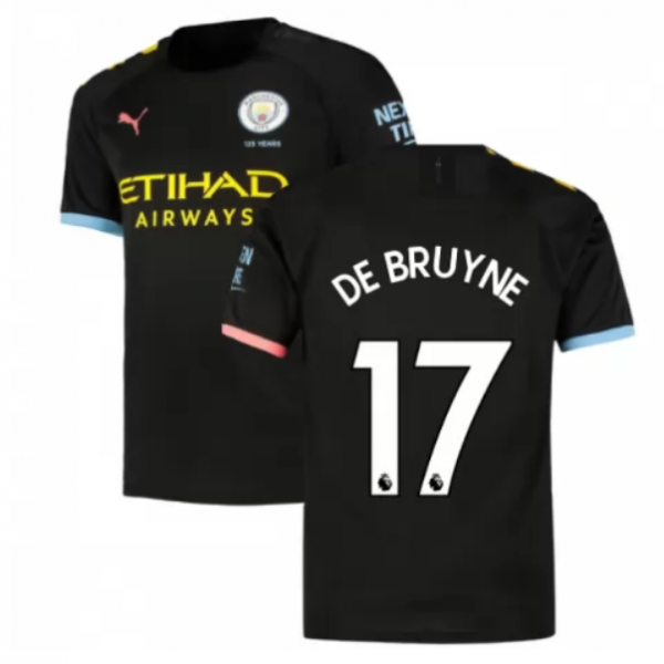 Manchester City Away  Jersey 19/20 #17 Kevin De Bruyne