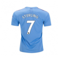 Manchester City Home Jersey 19/20 #7 Raheem Sterling