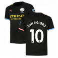 Manchester City Away  Jersey 19/20 #10 AGUERO