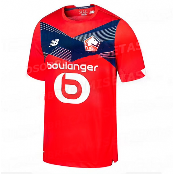 Lille OSC Home Jersey 20/21 (Customizable)