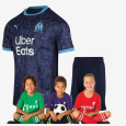 Kid's Olympique de Marseille Away suit 20/21 (Customizable)