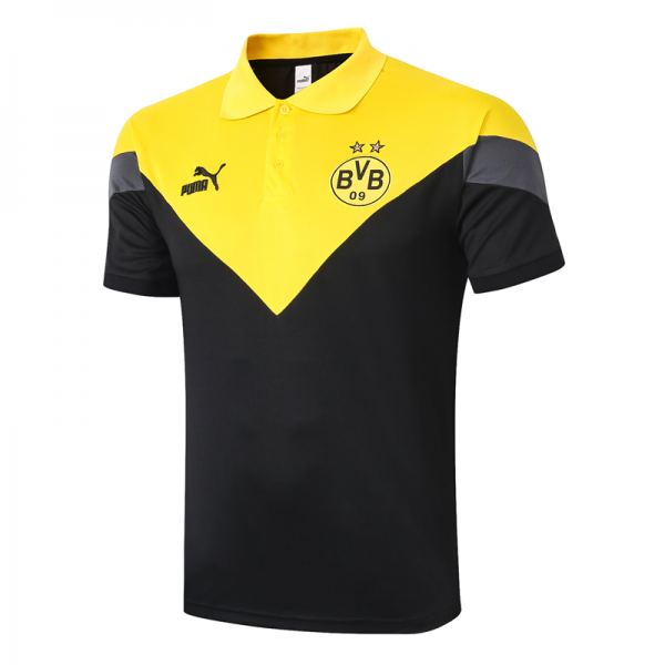 Borussia Dortmund POLO Shirts 20/21 Yellow black