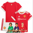 Kid  Manchester United Home Suit 21/22(Customizable)