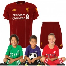 Kid's Liverpool Home Suit 19/20(Customizable)