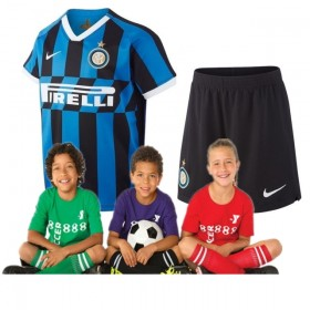 Kid's Inter Milan Home Suit 19/20 (Customizable)