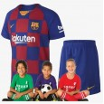 Kid's Barcelona Home Suit 19/20 (Customizable)
