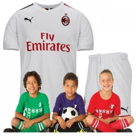 Kid's AC Milan Away Suit 19/20 (Customizable)