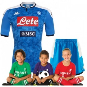 Kid's SSC Napoli Home Suit 19/20(Customizable)