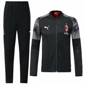19/20 AC Milan Training Suit Black