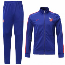 19/20 Atletico Madrid Training Suit Blue