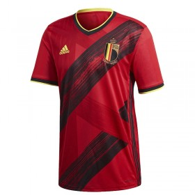 2020 Euro Cup Belgium Home Jersey  (Customizable)