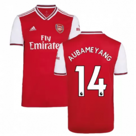 Arsenal Home Jersey 19/20 # 14 Pierre Aubameyang