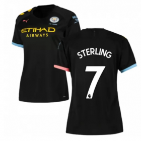 Manchester City Away Home Jersey 19/20 #7 Raheem Sterling