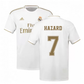 Real Madrid Home Jersey 19/20 #7 Eden Hazard