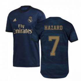 Real Madrid Away Jersey 19/20 #7 Eden Hazard