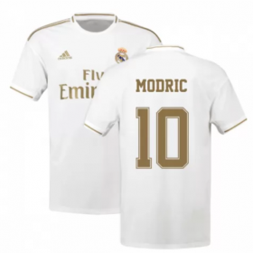 Real Madrid Home Jersey 19/20 #10 MODRIC