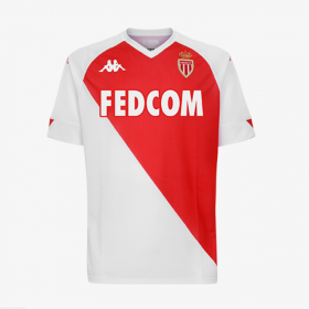AS Monaco Home Jersey 20-21(C02ustomizable)