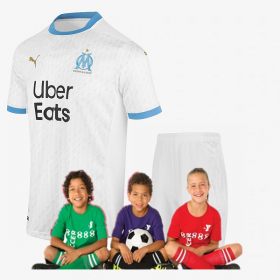 Kid's Olympique de Marseille home suit 20/21 (Customizable)