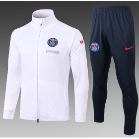 20/21 Paris Saint-Germain Training Suit White
