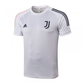 Juventus T-Shirts 20/21 light grey
