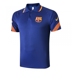 Barcelona POLO Shirts 20/21 blue
