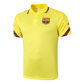 Barcelona POLO Shirts 20/21 yellow