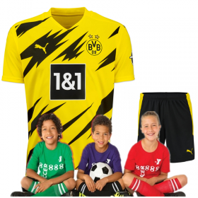 kid's Borussia Dortmund Home Jersey 20/21 (Customizable)