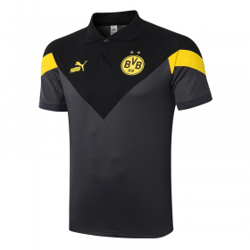 Borussia Dortmund POLO Shirts 20/21 Black gray