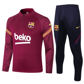 20/21 Barcelona Training Suit red