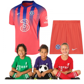 Kid's Chelsea Third Jersey 20/21 (Customizable)