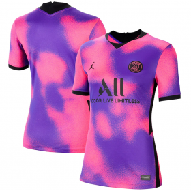 Paris Saint-Germain Women's Fourth Jersey 20/21 (Customizable)