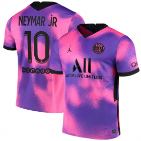 Paris St. Germain Fourth Jersey 20/21 # 10 NEYMAR