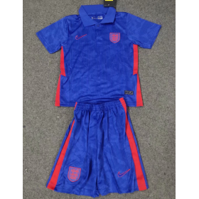 Kid's Euro Cup England Away Jersey 20/21 (Customizable)