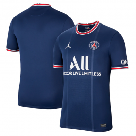 Paris Saint-Germain Home Jersey 21/22 (Customizable)