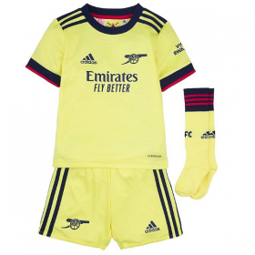 Kid's Arsenal Away Suit 21/22 (Customizable)