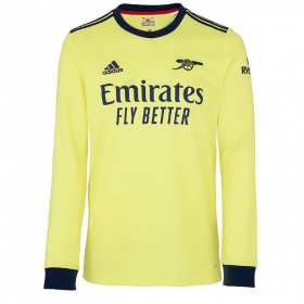 Arsenal Away Long sleeve Jersey 21/22 (Customizable)