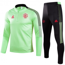21/22 Manchester United Training Suit Green