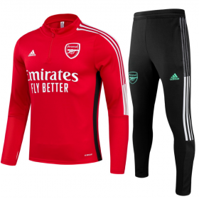 21/22 Arsenal Training Suit Red