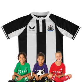 Kid's Newcastle United Home Suit 21/22(Customizable)