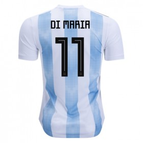 Argentina World-Cup #11 Di Maria Home Jersey 2018
