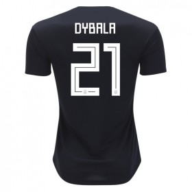 Argentina World-Cup #21 Dybala Away Jersey 2018