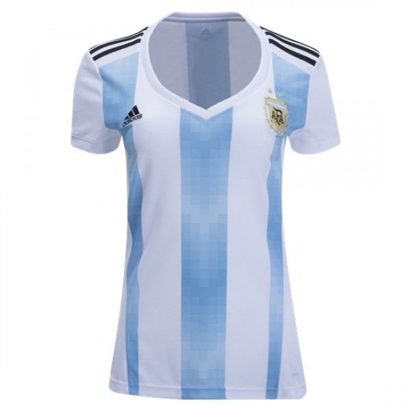 Argentina World-Cup Women's Home Jersey 2018(Customizable)