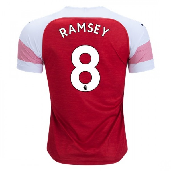 Arsenal #8 RAMSEY Home Jersey 18/19