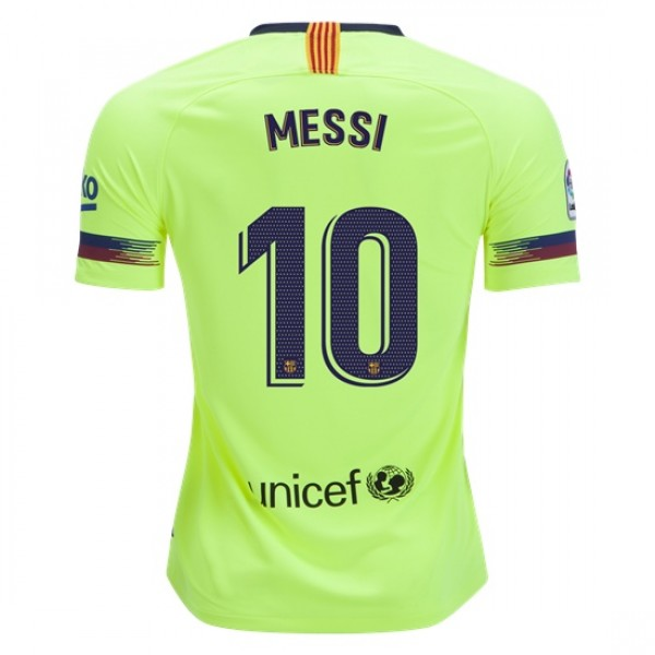 Barcelona #10 MESSI Away Jersey 18/19