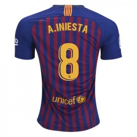 Barcelona #8 A.INIESTA Home Jersey 18/19